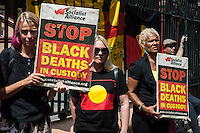 Julieka Dhu coronial Inquest continues, Sydney rally 14.03.16