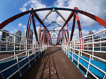 Detroit Bridge, Salford Quays, Manchester