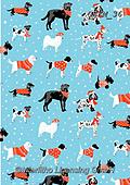 Kate, GIFT WRAPS, GESCHENKPAPIER, PAPEL DE REGALO, Christmas Santa, Snowman, Weihnachtsmänner, Schneemänner, Papá Noel, muñecos de nieve, paintings+++++Black & white Christmas dogs 2,GBKM36,#gp#,#x#