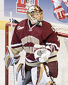 Cory Schneider - The Boston College Eagles defeated the Miami University Redhawks 5-0 in their Northeast Regional Semi-Final matchup on Friday, March 24, 2006, at the DCU Center in Worcester, MA.