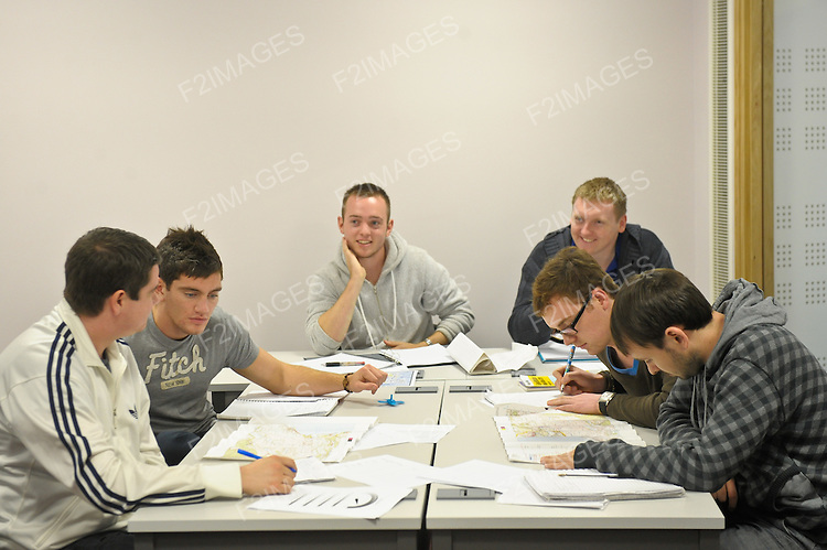 Students pictured during lectures at a university. Photos by Alan Edwards. F2images