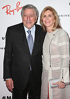 10 February 2019 - Los Angeles, California - Tony Bennett, Susan Crow. Universal Music Group GRAMMY After Party celebrating the 61st Annual Grammy Awards held at The Row. Photo Credit: Faye Sadou/AdMedia