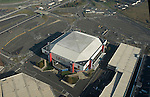 Aerial view of the IZOD Center, Meadowlands New Jersey