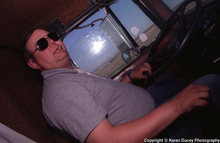 A truck driver (© Karen Ducey Photography)