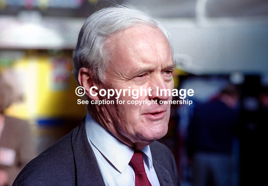 Veteran Labour politician, Tony Benn, annual conference, Labour Party, UK, September 1994, 19940930TB9<br /> <br /> Copyright Image from Victor Patterson,<br /> 54 Dorchester Park, <br /> Belfast, UK, BT9 6RJ<br /> <br /> t1: +44 28 9066 1296 (from Rep of Ireland 048 90661296)<br /> t2: +44 28 9002 2446 (from Rep of Ireland 048 9002 2446)<br /> <br /> m: +44 7802 353836<br /> <br /> e: victorpatterson@me.com<br /> www.victorpatterson.com<br /> <br /> Please see my Terms and Conditions of Use at www.victorpatterson.com. It is IMPORTANT that you familiarise yourself with them.<br /> <br /> Images used on the Internet must be visibly watermarked i.e. &copy; Victor Patterson<br /> within the body of the image and copyright metadata must not be deleted. Images <br /> used on the Internet have a size restriction of 4kbs and will be chargeable at current<br />  NUJ rates unless agreed otherwise.<br /> <br /> This image is only available for the use of the download recipient i.e. television station, newspaper, magazine, book publisher, etc, and must not be passed on to any third <br /> party. It is also downloaded on condition that each and every usage is notified within 7 days to victorpatterson@me.com<br /> <br /> The right of Victor Patterson to be identified as the author is asserted in accordance with The Copyright Designs And Patents Act (1988). All moral rights are asserted