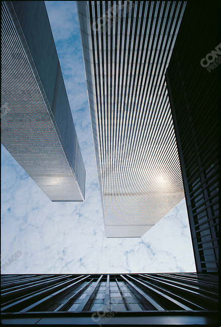 The World Trade Center, New York City, New York, USA, 1982