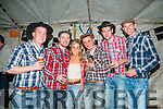 Barn Dance : Attending the fund raising barn dance at Browne's farm, Mountcoal  on Friday night last were Darragh Dineen, Cormac Wall, Katie O'Keeffe, Shane O'Connor, Ian Flavin & Chris Dalton.