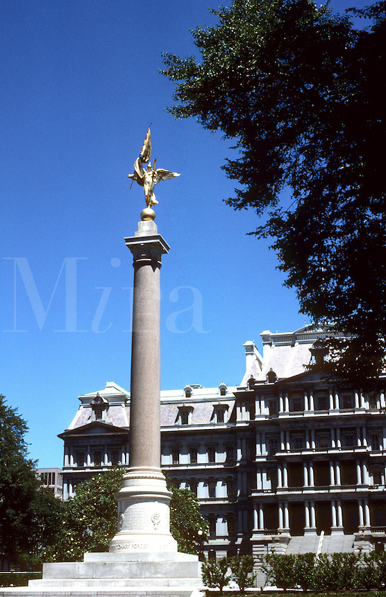 Armed Forces Statue, Washington, DC, USA