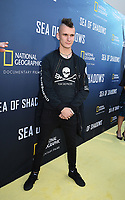 HOLLYWOOD, CALIFORNIA - JULY 10: Jack Hutton attends the National Geographic Documentary Films' premiere of 'Sea Of Shadows' at NeueHouse Los Angeles on July 10, 2019 in Hollywood, California. (Photo by Frank Micelotta/National Geographic/PictureGroup)