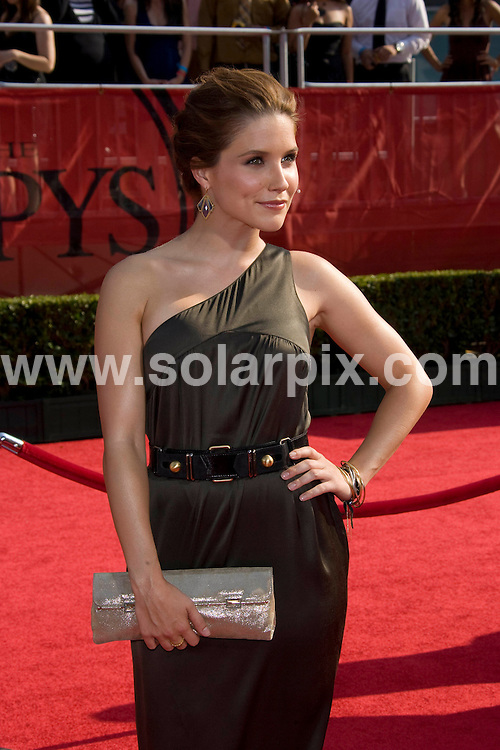 **ALL ROUND PICTURES FROM SOLARPIX.COM**.**SYNDICATION RIGHTS FOR UK, SPAIN, PORTUGAL, AUSTRALIA, S.AFRICA & DUBAI (U.A.E) ONLY**.David Beckham and Victoria Beckham attends the 16th Annual ESPY at the Nokia Theatre in Los Angeles, California in the USA. .This pic:Sophia Bush..JOB REF:6850- PHZ/Chris Hatcher    DATE:16_07_08 .**MUST CREDIT SOLARPIX.COM OR DOUBLE FEE WILL BE CHARGED* *UNDER NO CIRCUMSTANCES IS THIS IMAGE TO BE REPRODUCED FOR ANY ONLINE EDITION WITHOUT PRIOR PERMISSION*