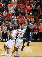 Duke guard Quinn Cook (2) during an ACC basketball game Jan. 31, 2015 in Charlottesville, VA. Duke won 69-63.