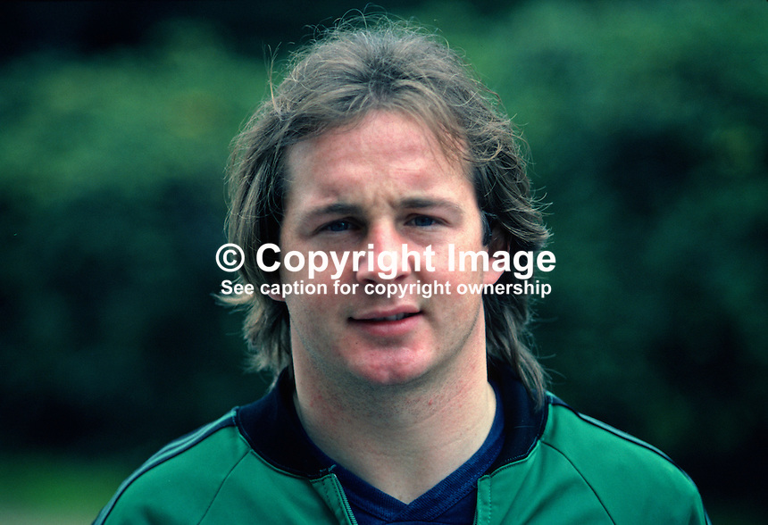 Dave McCreery, footballer, Manchester United FC & N Ireland, 198011000360..Copyright Image from Victor Patterson, 54 Dorchester Park, Belfast, UK, BT9 6RJ..Tel: +44 28 9066 1296.Mob: +44 7802 353836.Voicemail +44 20 8816 7153.Skype: victorpattersonbelfast.Email: victorpatterson@mac.com.Email: victorpatterson@ireland.com (back-up)..IMPORTANT: If you wish to use this image or any other of my images please go to www.victorpatterson.com and click on the Terms & Conditions. Then contact me by email or phone with the reference number(s) of the image(s) concerned.