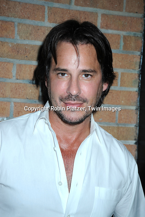 "actor Ricky Paull Goldin attending the viewing party for TLC's Series ""Seeing Vs Believing"" which is hosted by Ricky Paull Goldin of All My Children and Jeff Gurtman on May 2, 2010 at Stanton Public in New York City."
