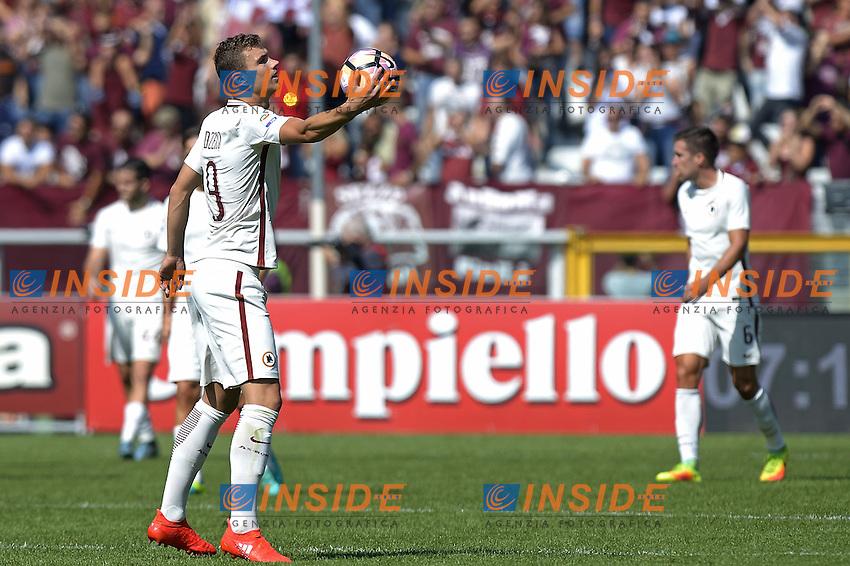 Edin Dzeko Roma,<br /> Torino 25-09-2016, Stadio Olimpico Grande Torino, Football Calcio 2016/2017 Serie A, Torino - Roma, Foto Filippo Alfero/Insidefoto