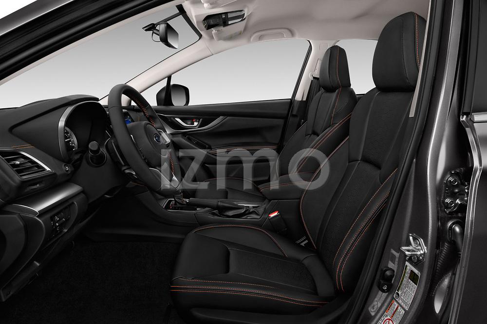 Front seat view of a 2018 Subaru Crosstrek Limited CVT 5 Door SUV front seat car photos
