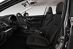 Front seat view of a 2018 Subaru Crosstrek Limited CVT 5 Door SUV front seat car photos