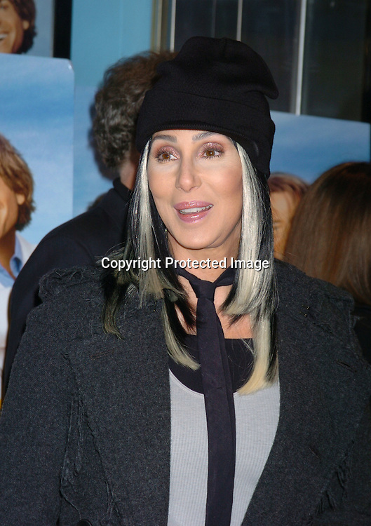 "Cher..at a Special Screening of ""Stuck On You"" at the Chelsea ..West Theatre on December 8,2003.    Photo by Robin Platzer, Twin Images"