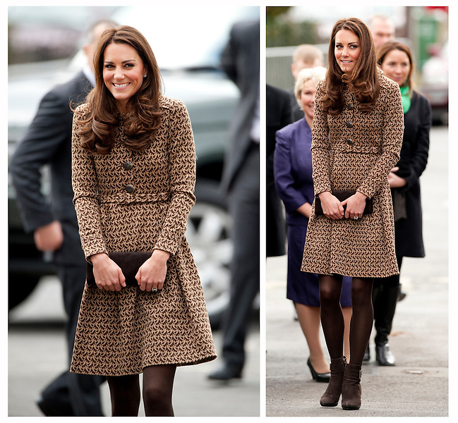 Catherine , Duchess Of Cambridge arrives at The Oxford Spires Academy..Tel. Kelvin Bruce 07515 876520.Tel. Max Mumby 07970 799043