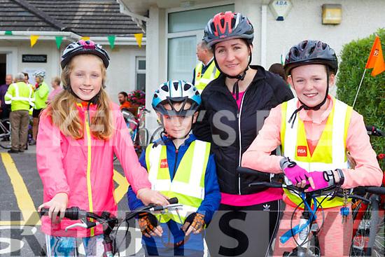 Deirdre Moynihan, Thomas and MArie O'Donoghue and Rachel Horgan enjoying the cycle on Sunday
