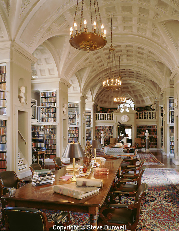 Boston Athenaeum reading room, Boston, MA