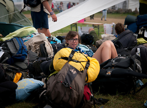 Everything is comming down. Photo: Patrick Tollgren Lazarov / Scouterna