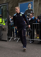 Burnley arriving at the The Amex Stadium <br /> <br /> Photographer David Horton/CameraSport<br /> <br /> The Premier League - Brighton and Hove Albion v Burnley - Saturday 9th February 2019 - The Amex Stadium - Brighton<br /> <br /> World Copyright &copy; 2019 CameraSport. All rights reserved. 43 Linden Ave. Countesthorpe. Leicester. England. LE8 5PG - Tel: +44 (0) 116 277 4147 - admin@camerasport.com - www.camerasport.com