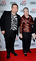 "LOS ANGELES, USA. November 21, 2019: Paul Walter Hauser & Kathy Bates at the world premiere for ""Richard Jewell"" as part of the AFI Fest 2019 at the TCL Chinese Theatre.<br /> Picture: Paul Smith/Featureflash"