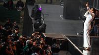 LISBOA, PORTUGAL, 01 JUNHO 2012 - ROCK IN RIO LISBOA - Apresentação da cantora Ivete Sangalo no Palco Mundo durante o Rock in Rio Lisboa, em Portugal, nesta sexta-feira. (FOTO: WILLIAM VOLCOV / BRAZIL PHOTO PRESS).