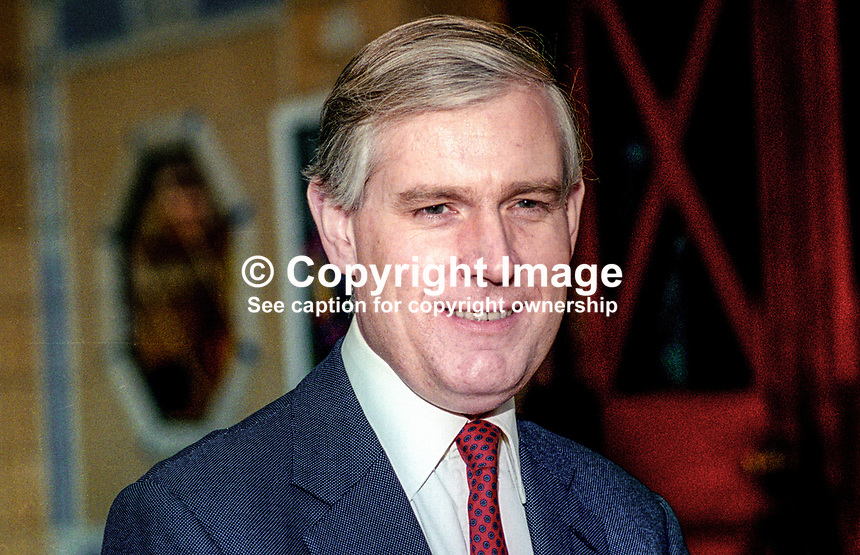 Matthew Carrington, MP, Conservative Party, UK, October, 1993, 1993102894<br />