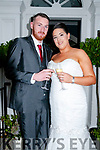 Siobhan Kelly,,daughter of Sue & Kevin Kelly, Athea and Shane Ahearn, son of Brendan & Margaret Ahearn, Ballyneety, Co. Limerick who were married in Las Vegas on 17th September last celebrating with family and friends at the Listowel Arms Hotel on Saturday last.