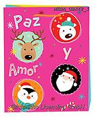 Dreams, CHRISTMAS ANIMALS, WEIHNACHTEN TIERE, NAVIDAD ANIMALES, paintings+++++,MEDAGBX42/1,#XA# ,sticker,stickers