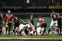 Twickenham, England. USA Kimball KJAR, during the Churchill Cup game, Canada vs USA, at Twickenham Stadium  02/06/2007 [Mandatory Credit Peter Spurrier/ Intersport Images]