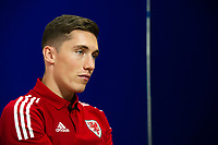 Harry Wilson of Wales during the Wales Press Conference at St Fagans National Museum of History in Cardiff, Wales, UK. Tuesday 12th November 2019