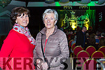 Mary Cotter and Ina O'Neill at the Gathering festival in the Gleneagle Hotel on Friday night