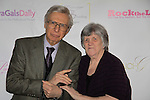 The Amazing Kreskin - Mentalist poses with Sue Coflin of Max Photos as he attended the Color of Beauty Awards hosted by VH1's Gossip Table's Delaina Dixon and Maureen Tokeson-Martin on February 28, 2015 with red carpet, awards and cocktail reception at Ana Tzarev Gallery, New York City, New York.  (Photo by Sue Coflin/Max Photos)
