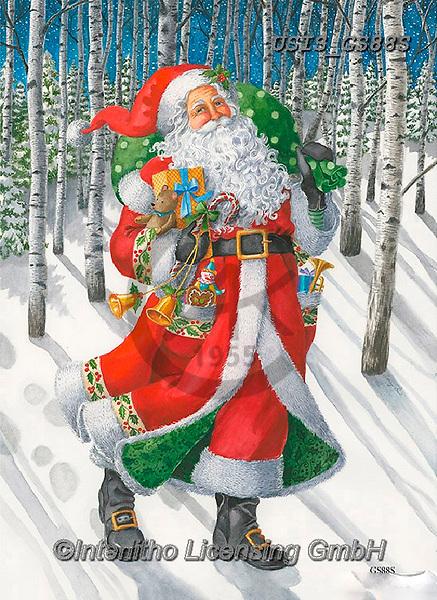 Ingrid, CHRISTMAS SANTA, SNOWMAN, WEIHNACHTSMÄNNER, SCHNEEMÄNNER, PAPÁ NOEL, MUÑECOS DE NIEVE, paintings+++++,USISGS88S,#x#
