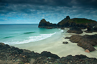 Kynance Cove near Lizard, on the Lizard Peninsula, Cornwall