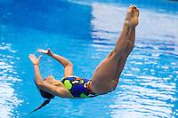 Francesca Dallape' ITA<br /> 3m Springboard Women preliminary<br /> Day 06 14/06/2015  <br /> 2015 Arena European Diving Championships<br /> Neptun Schwimmhalle<br /> Rostock Germany 09-14 June 2015 <br /> Photo Giorgio Perottino/Deepbluemedia/Insidefoto