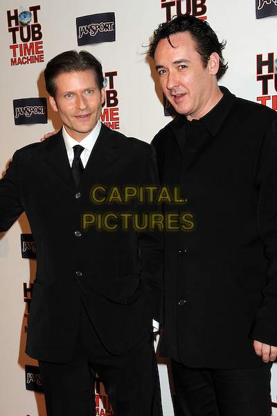 """CRISPIN GLOVER & JOHN CUSACK.""""Hot Time Time Machine"""" World Premiere Party held at the Cabana Club, Hollywood, California, USA..March 17th, 2010.half length black suit coat jacket .CAP/ADM/BP.©Byron Purvis/AdMedia/Capital Pictures."""