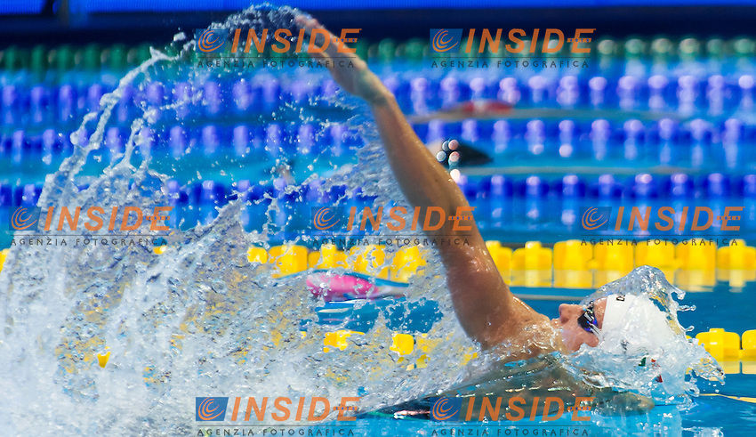 HOSSZU Katinka HUN<br /> Women's 100m backstroke heats<br /> Netanya, Israel, Wingate Institute<br /> LEN European Short Course Swimming Championships  Dec. 2 - 6, 2015 Day01 Dec. 2nd<br /> Nuoto Campionati Europei di nuoto in vasca corta<br /> Photo Giorgio Perottino/Deepbluemedia/Insidefoto