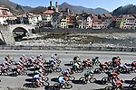 Action from the 110th edition of Milan-San Remo 2019 running 291km from Milan to San Remo, Italy. 23rd March 2019.<br /> Picture: LaPresse/Fabio Ferrari | Cyclefile<br /> <br /> <br /> All photos usage must carry mandatory copyright credit (© Cyclefile | LaPresse/Fabio Ferrari)
