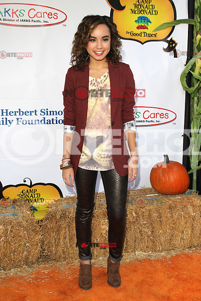 UNIVERSAL CITY, CA - OCTOBER 21:  Savannah Jayde at the Camp Ronald McDonald for Good Times 20th Annual Halloween Carnival at the Universal Studios Backlot on October 21, 2012 in Universal City, California. © mpi28/MediaPunch Inc. /NortePhoto