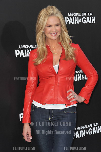 "Nancy O'Dell at the Los Angeles premiere of ""Pain & Gain"" at the Chinese Theatre, Hollywood..April 22, 2013  Los Angeles, CA.Picture: Paul Smith / Featureflash"