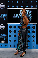 LOS ANGELES - JUN 25:  Amanda Seales at the BET Awards 2017 at the Microsoft Theater on June 25, 2017 in Los Angeles, CA