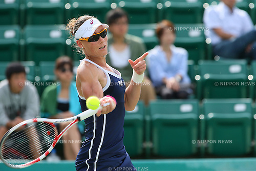Samantha Stosur (AUS), .OCTOBER 8, 2012 - Tennis : .HP japan Women's Open Tennis 2012, .Women's Singles first round match .at Utsubo Tennis Center, Osaka, Japan. .(Photo by Akihiro Sugimoto/AFLO SPORT) [1080]
