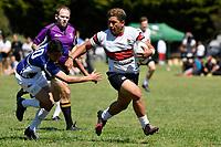 Rugby 7's – Regional Condor Qualifying at Naenae College, Lower Hutt, New Zealand on Monday 22 October  2018. <br /> Photo by Masanori Udagawa. <br /> www.photowellington.photoshelter.com
