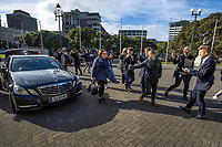 National MP Melissa Lee arrives at NZ Parliament Buildings in Wellington, New Zealand on Thursday, 4 July 2019. Photo: Dave Lintott / lintottphoto.co.nz