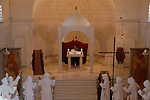 """Les Jours du Fiance"" holiday at the Monastery of the Sisters of Bethlehem of the Assumption of the Virgin and of Saint Bruno in Beth Gemal, Israel"
