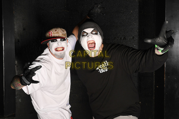FORT LAUDERDALE, FL - FEBRUARY 19: Twiztid pose during a photo session at The Culture Room on February 19, 2017 in Fort Lauderdale, Florida. <br /> CAP/MPI04<br /> &copy;MPI04/Capital Pictures
