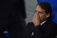 Roberto Mancini Italy<br /> Roma 12-10-2019 Stadio Olimpico <br /> European Qualifiers Qualifying round Group J <br /> Italy - Greece <br /> Photo Antonietta Baldassarre/Insidefoto